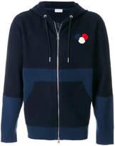 Moncler tonal zipped hoodie
