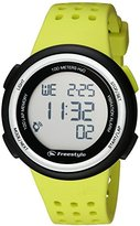 Freestyle Unisex 10019175 FX Trainer Digital Display Japanese Quartz Yellow Watch