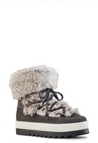 Cougar Vanora Waterproof Boot with Genuine Rabbit Fur Trim