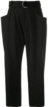 Proenza Schouler Drop Waisted Belted Pants