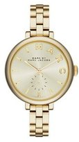 Marc by Marc Jacobs Women's MBM3363 Sally Gold-Tone Stainless Steel Watch with Link Bracelet