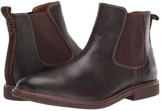 Lucky Brand Brentwood (Dark Brown Bomber Jacket Leather) Men's Boots