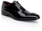 HUGO BOSS Mellio Patent Leather Dress Shoe - Black