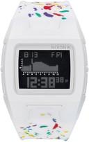 Nixon Men's Lodown White Silicone Digital Watch