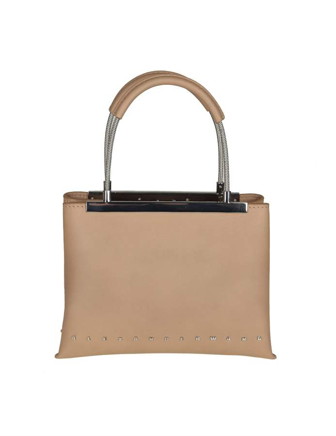 Alexander Wang dime Small Bag In Nude Colored Leather