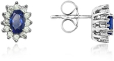 Tagliamonte Incanto Royale Sapphire and Diamond 18K Gold Earrings