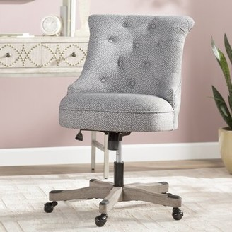 Three Posts Eckard Task Chair Upholstery Color: Light Gray
