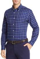 Brooks Brothers Oxford Plaid Long Sleeve Button-Down Shirt