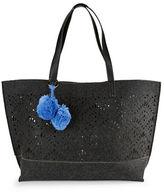 Echo Lasercut Wool Tote