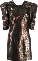 Versace Pop Animalier leopard print dress