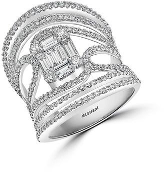 Effy Hematian 18K White Gold Diamond Ring