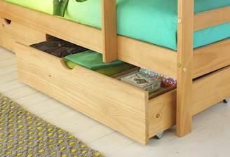 Josie Argos Home Set of 2 Pine Single Drawers