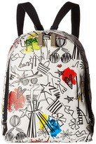 Alice + Olivia Stace Face Graffiti Print Small Backpack Backpack Bags
