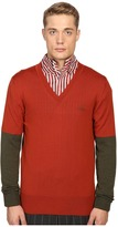 Vivienne Westwood Block Classic V-Neck Sweater