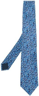 Lanvin Graphic Print Tie