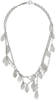 Isabel Marant Silver Multiple Necklace