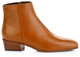 Aquatalia Fuoco Leather Ankle Boots