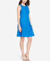 Lauren Ralph Lauren Lace Fit & Flare Dress