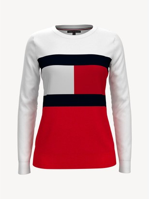 Tommy Hilfiger Essential Flag Crewneck Sweater