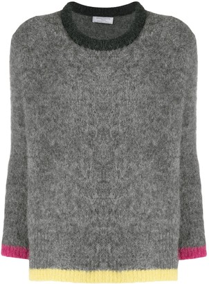 Societe Anonyme Contrast-Trim Sweater