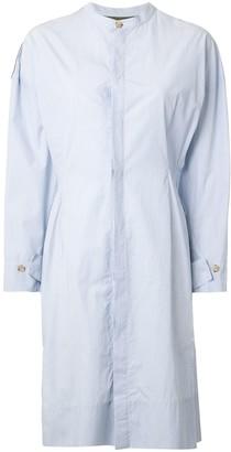 Bassike Stripe Cotton Utility Dress