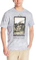 Liquid Blue Men's Led Zeppelin Man With Sticks Short Sleeve T-Shirt