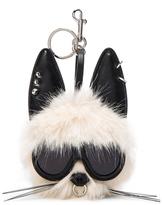 Stella McCartney Rabbit Faux Fur Keychain