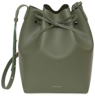 Mansur Gavriel Calf Bucket Bag - Leaf