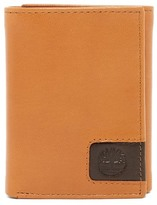 Timberland Leather Cloudy Logo Tab Trifold Wallet