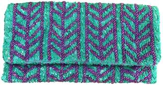 Anthropologie Blue Polyester Clutch bags
