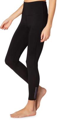 Beyond Yoga Zip By High-Waist Midi Leggings