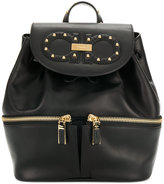 Salvatore Ferragamo studded logo backpack