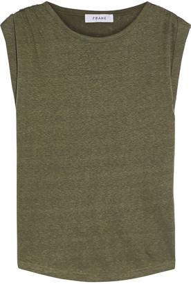 Frame Linen-jersey Top