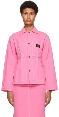 Marc Jacobs Pink Stan Ray Edition The Tailored Workwear Jacket