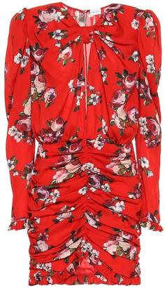 Magda Butrym Barletta floral silk-crApe minidress