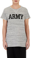 Nlst Men's Army Short-Sleeve Sweatshirt-Grey Size Xs