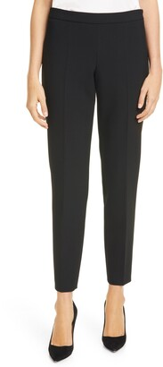 HUGO BOSS Tiluna Soft Stretch Side Zip Ponte Trousers