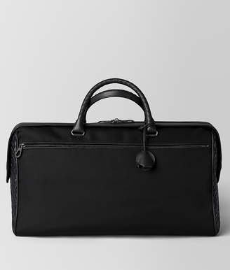 Bottega Veneta NERO HI-TECH CANVAS DUFFLE