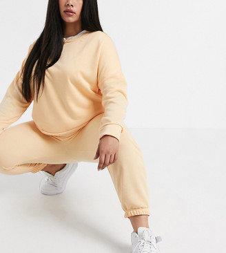 Yours joggers co-ord in pale peach