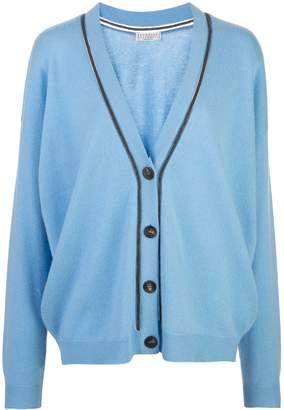 Brunello Cucinelli cashmere blend cardigan