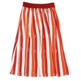Patrizia Pepe Striped Skirt With Logo