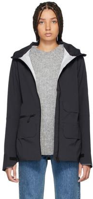 Canada Goose Black Pacifica Raincoat