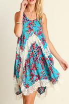 Umgee USA Floral Lace Dress