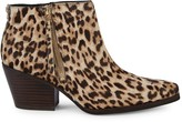 Sam Edelman Walden Leopard-Print Cow Hair Booties