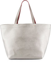 Neiman Marcus Contrast Large Tote Bag