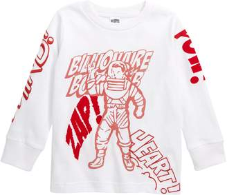 Billionaire Boys Club Comic Stripe Crewneck T-Shirt