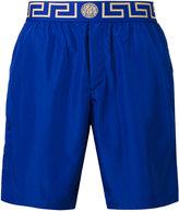 Versace Greek Key Medusa swim shorts