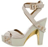 Marc by Marc Jacobs Leather Platform Sandals
