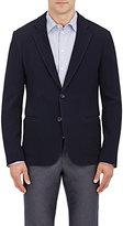 Giorgio Armani Men's Virgin Wool Sportcoat-NAVY