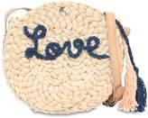 Chloé Love Woven Straw Bag